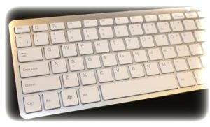 silver keyboard regulation information typing